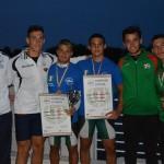 K2 500 metri vampoini d'Italia junior